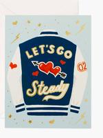 Let's Go Steady Card