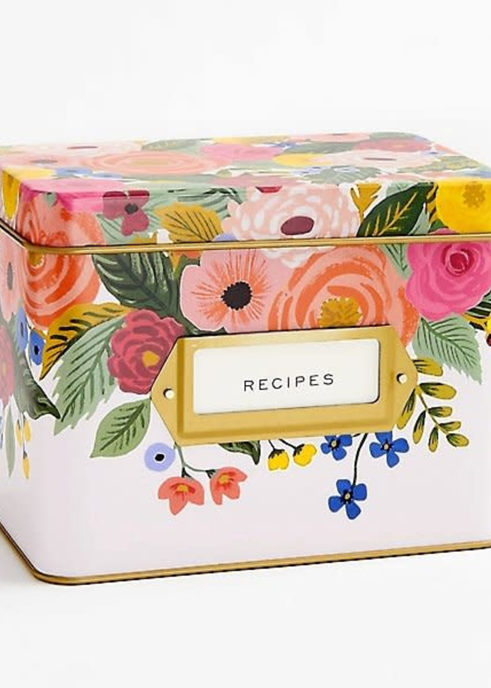 Recipe Box with Cards Juliet Rose