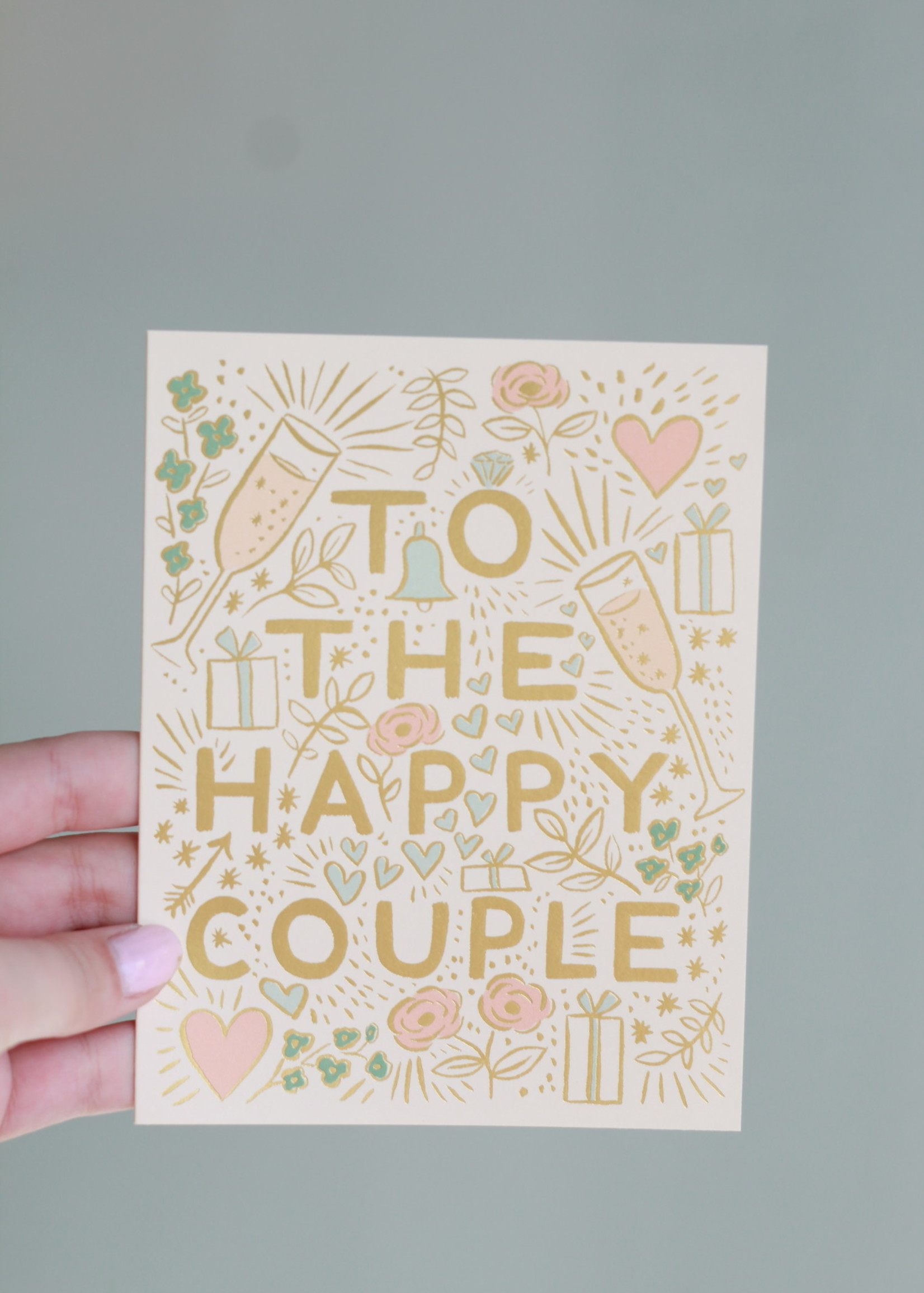 To The Happy Couple Card