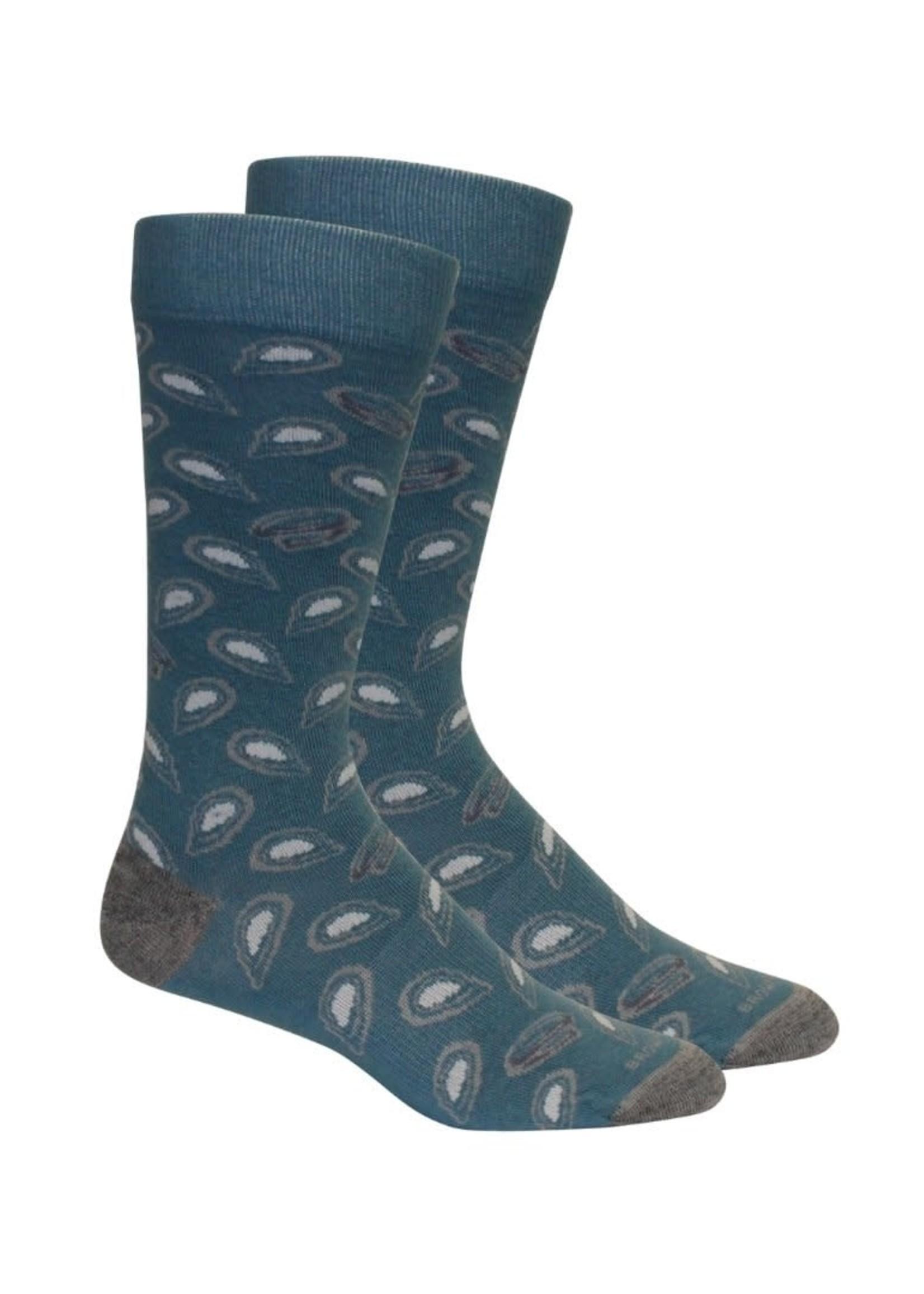 Shuckin- Bluestone Socks