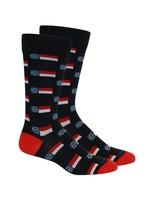 Raleigh- NC Flag Socks