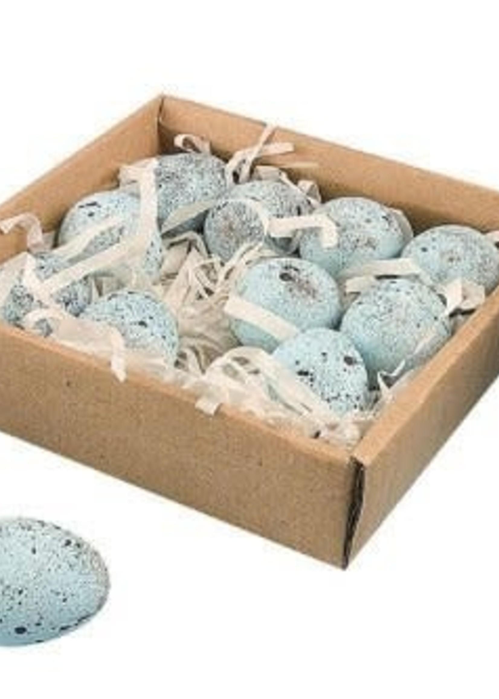 Ceramic Eggs Boxed Set Of 12