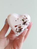 Lavender Heart Bath Bomb
