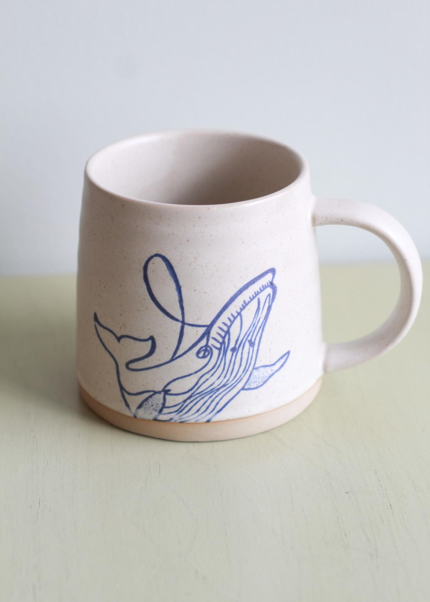 Sea Creature Ceramic Mugs
