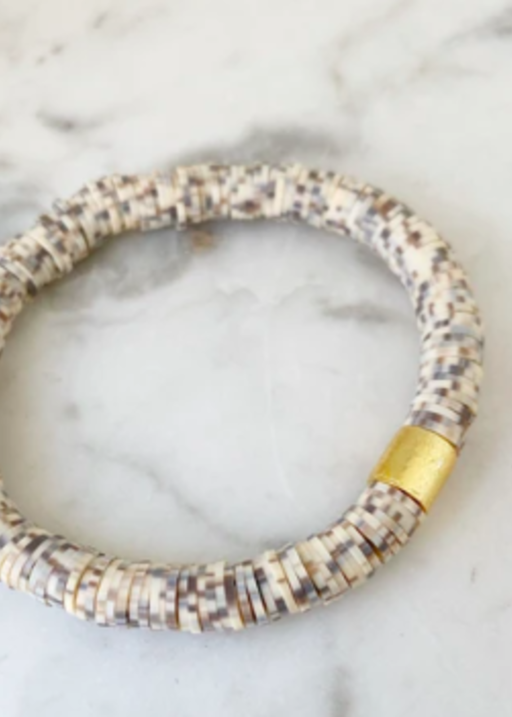 Mod Miss Jewelry Toasted Coconut Color Pop Bracelet Size Small