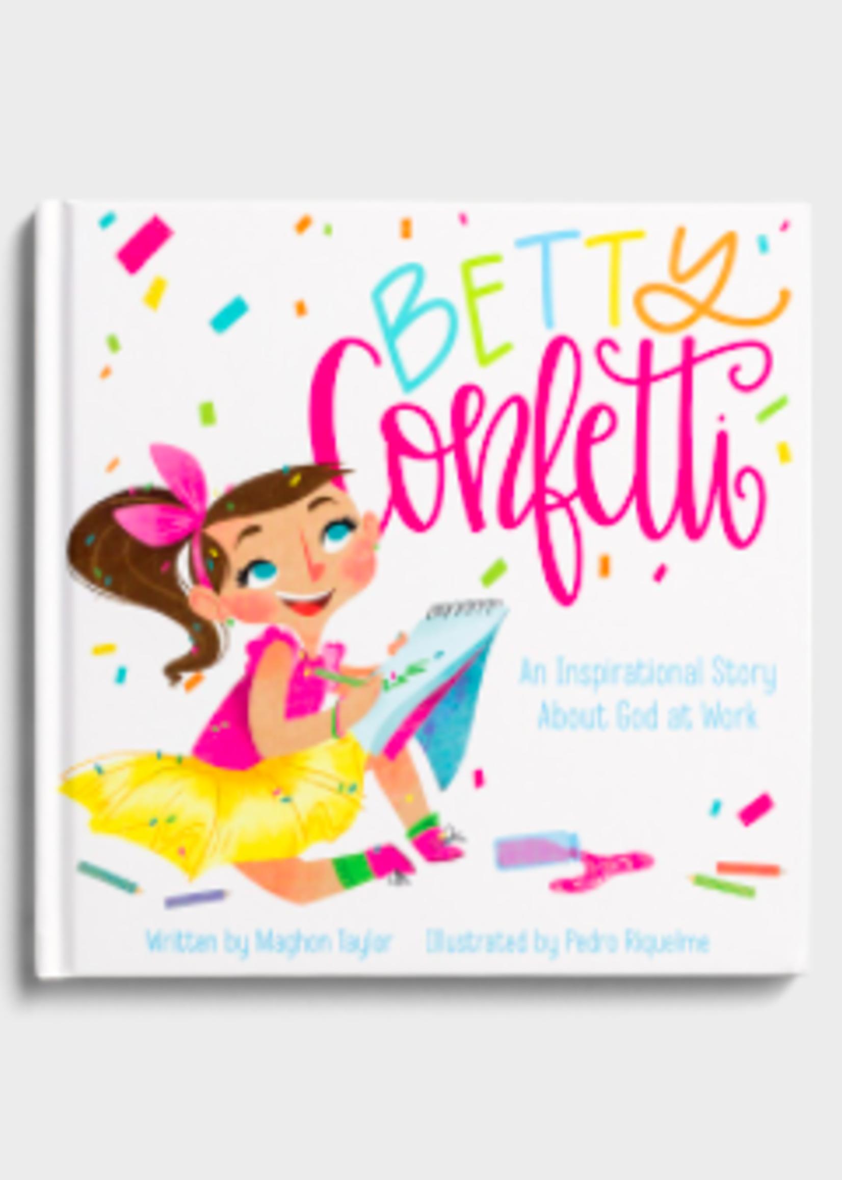 Betty Confetti Book