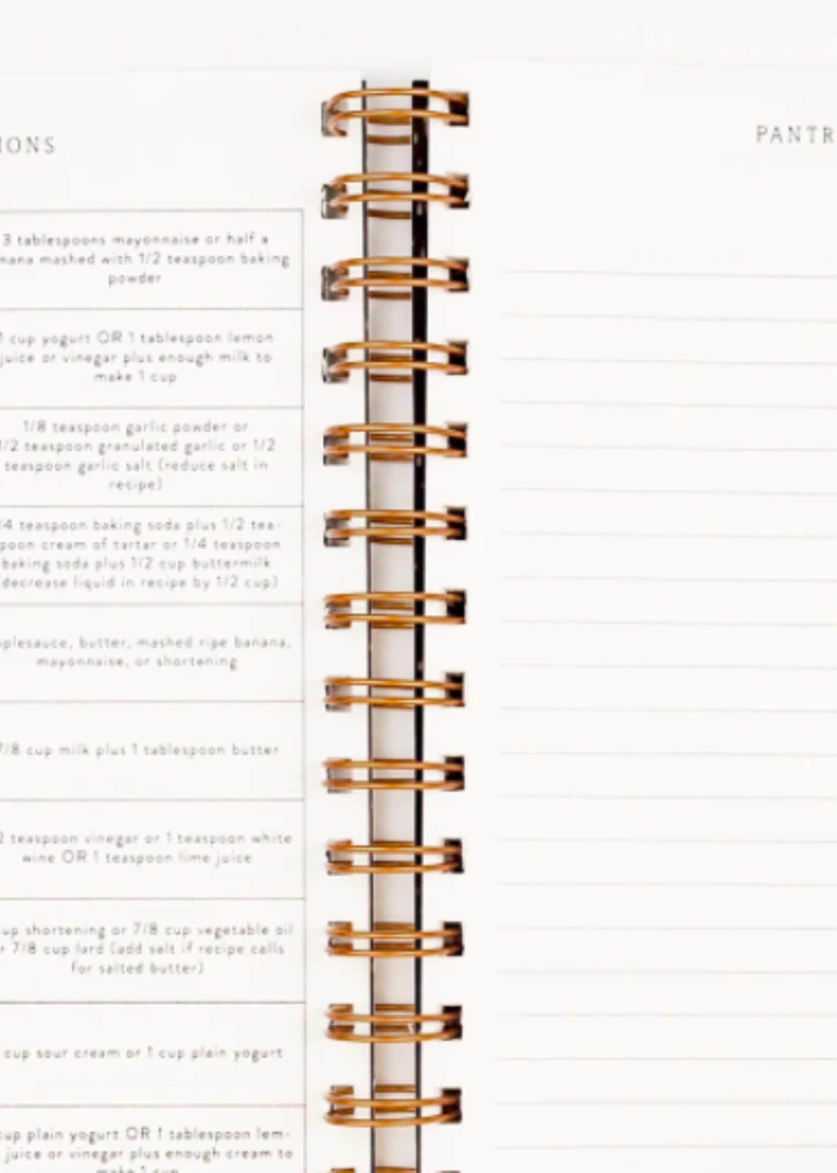 Pen + Pillar Brunch Recipe Book