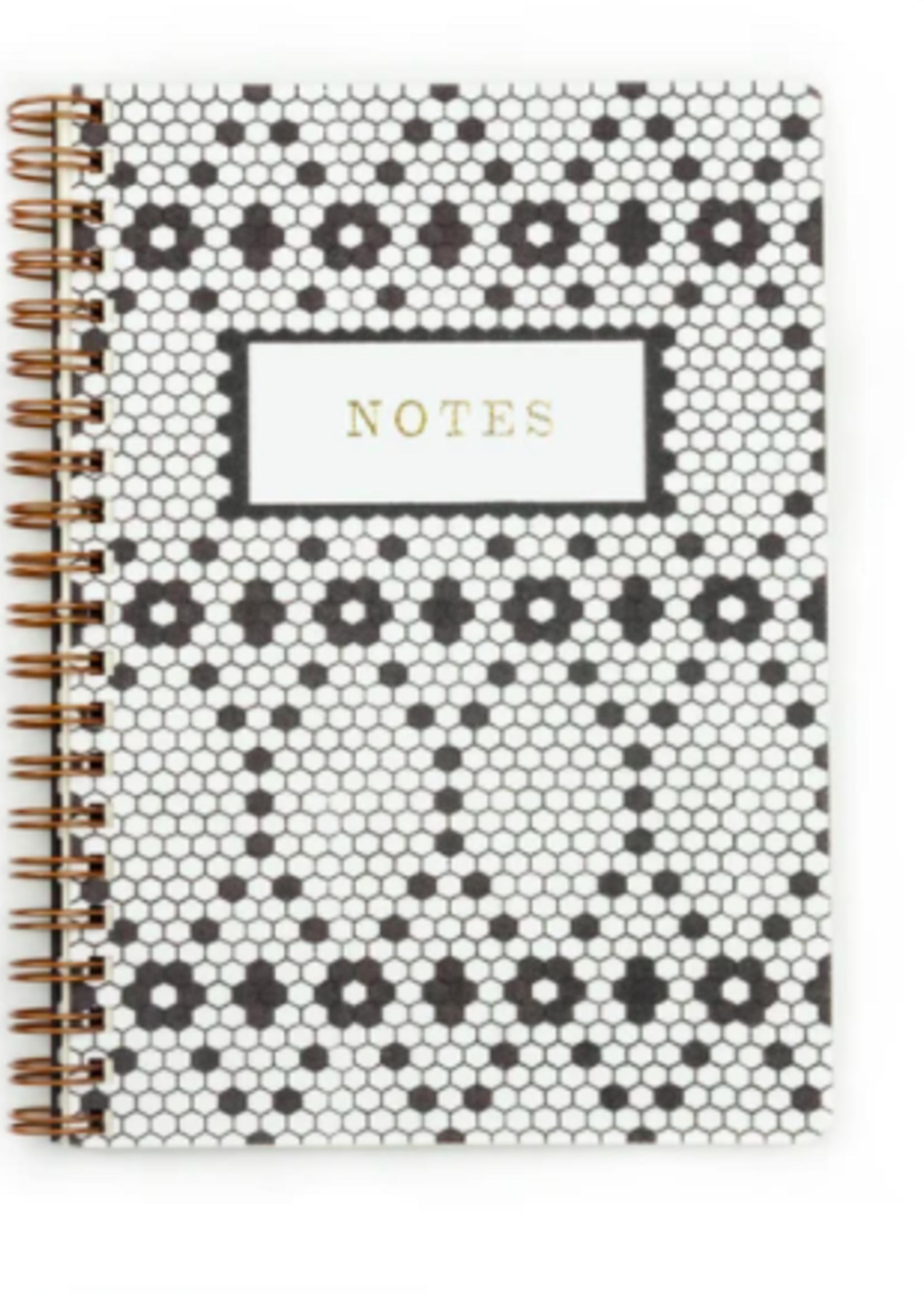 Pen + Pillar Retro Tile Handmade Notebook