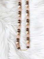 Allison Conway AC Multi Neutral Long Necklace