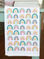 Rainbows Tea Towel