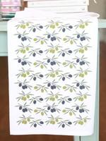 Olive Branch Tea Towel