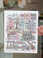 Paper Mill Creative Chapel Hill Print 8x10