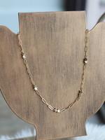 Erin McDermott Paperclip Star Necklace