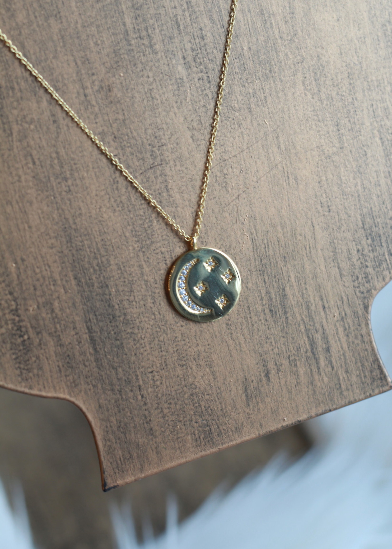 Erin McDermott Love You To The Moon and Back Necklace