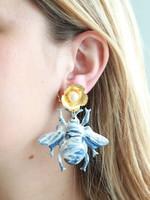 Pink Reef Pink Reef Chinoiserie Bug Earrings