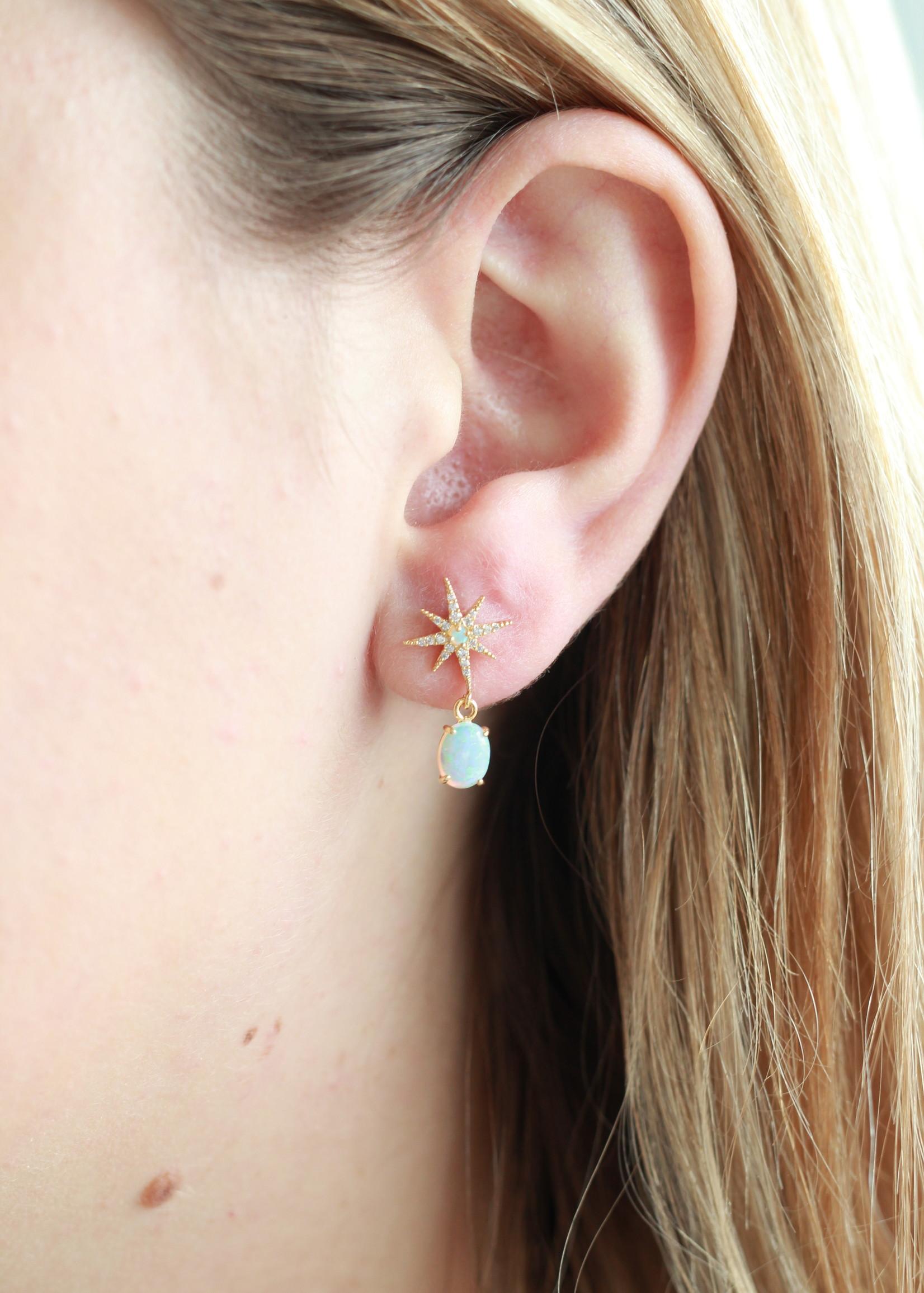 Allison Conway AC Opal Solstice Earrings