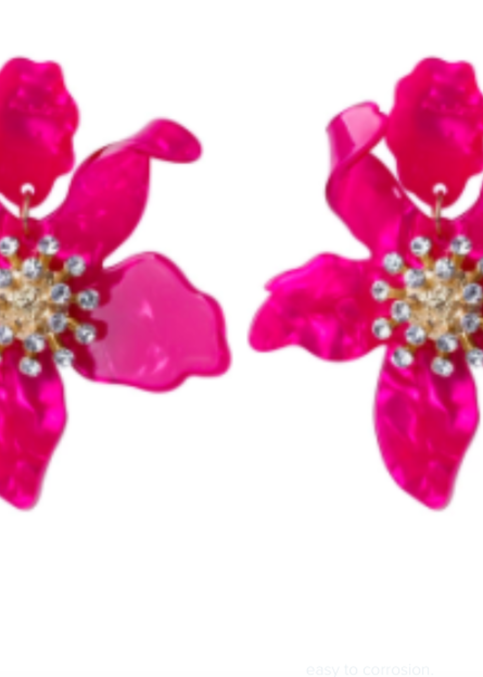 Smith & Co LS SFY Flamingo Pink Earrings