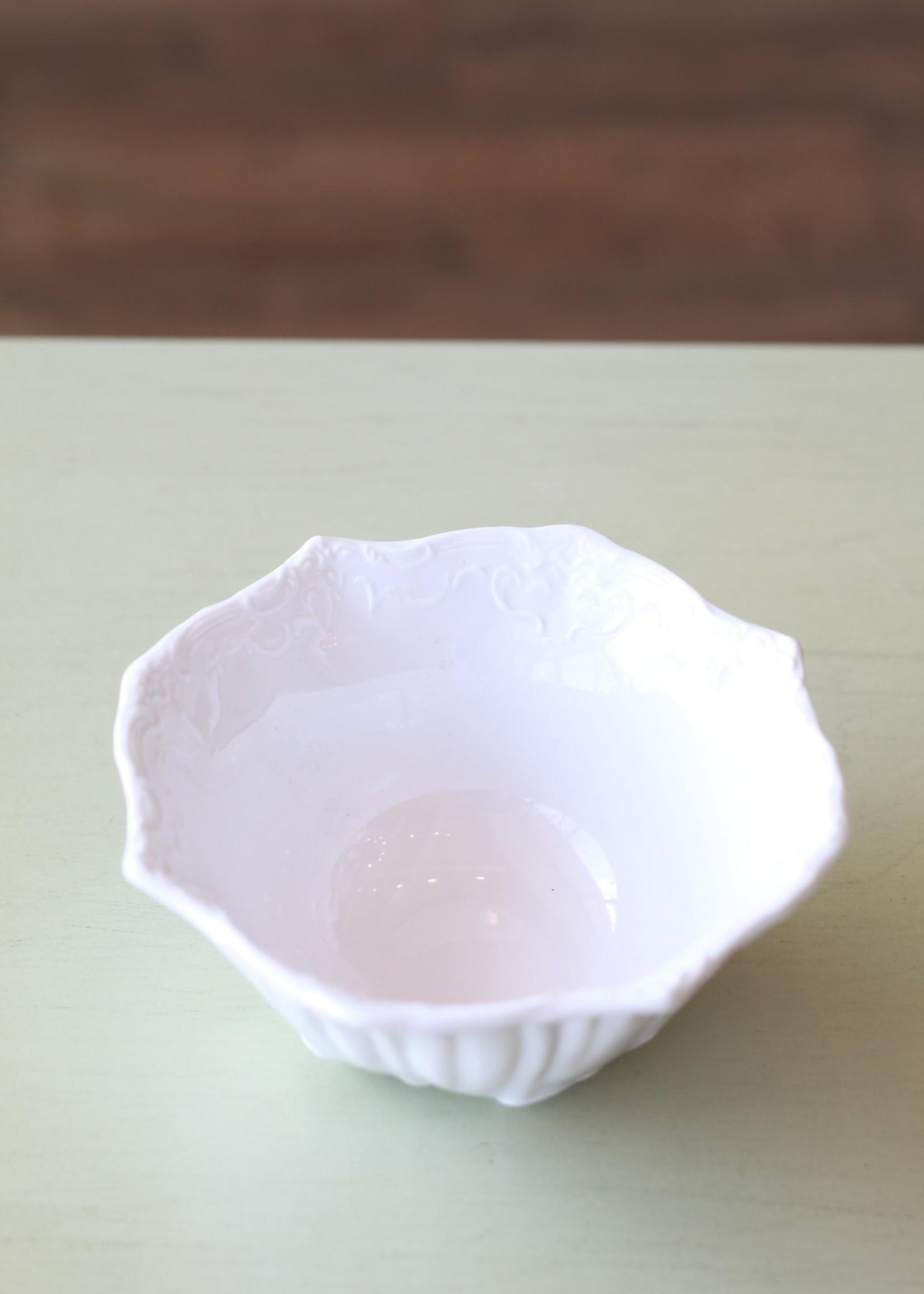 Ceramic White Dish
