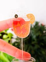 One & Only Paper Spritz Clear Sticker
