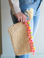 Cabo Woven Clutch