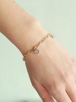 Allison Conway AC All Around Druzy Charm Bracelet