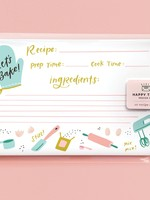 Happy Tines Let's Bake Recipe Cards