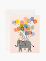 Welcome Elephant Card