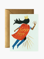 Super Mom Blue Card