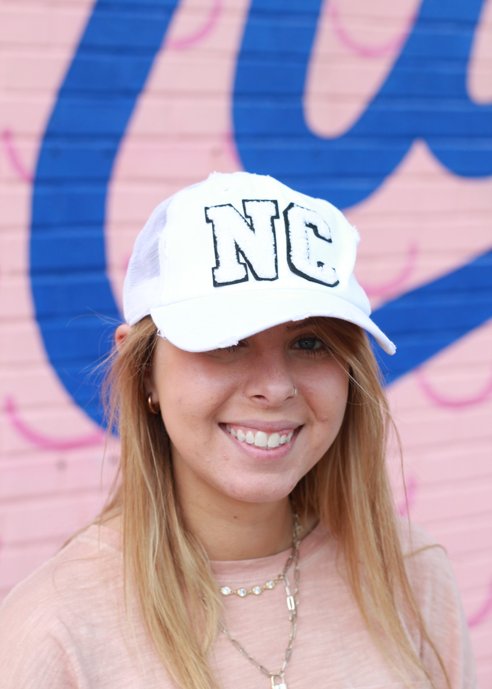 Judith March White NC Hat
