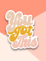 Lux + Trip You Got This Sticker