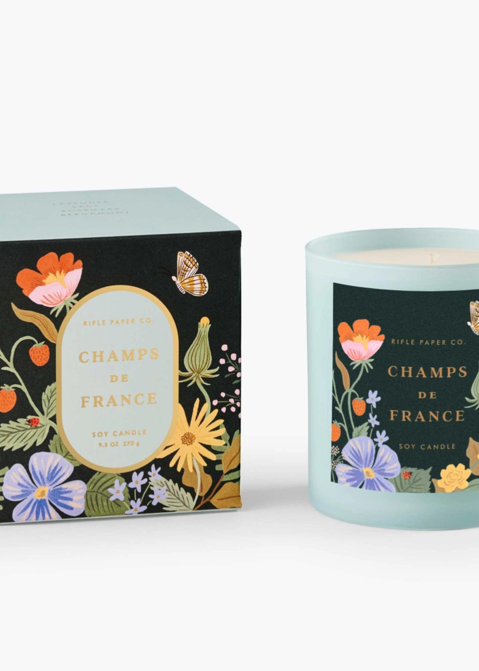 Champs de France Candle