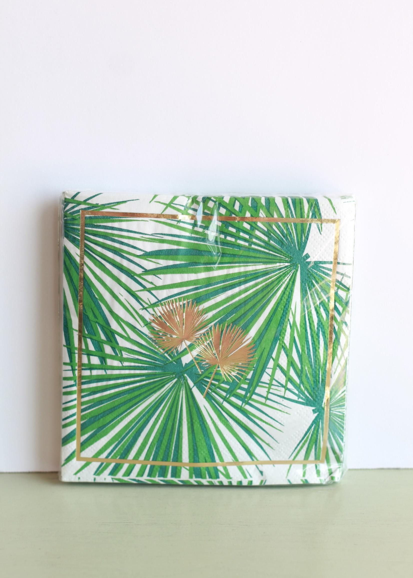 Palm Fans Napkins