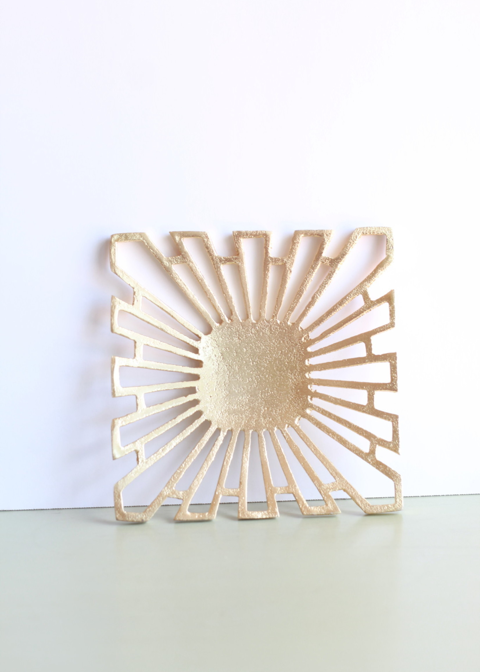 Gold Square Trinket Dish