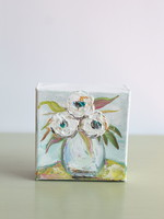 BJ Weeks BJ Weeks Floral Neutral Flowers III 4x4