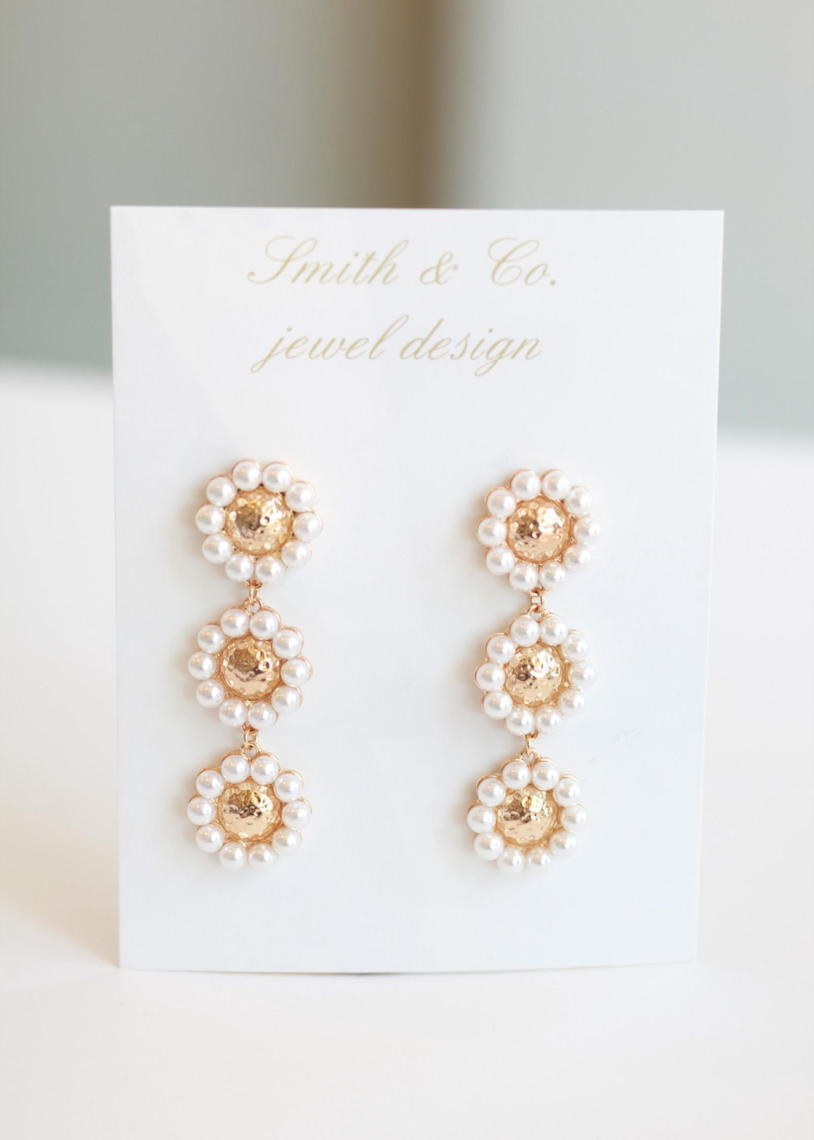 Smith & Co LS Sunshine Pearl Drop Dangle Earring
