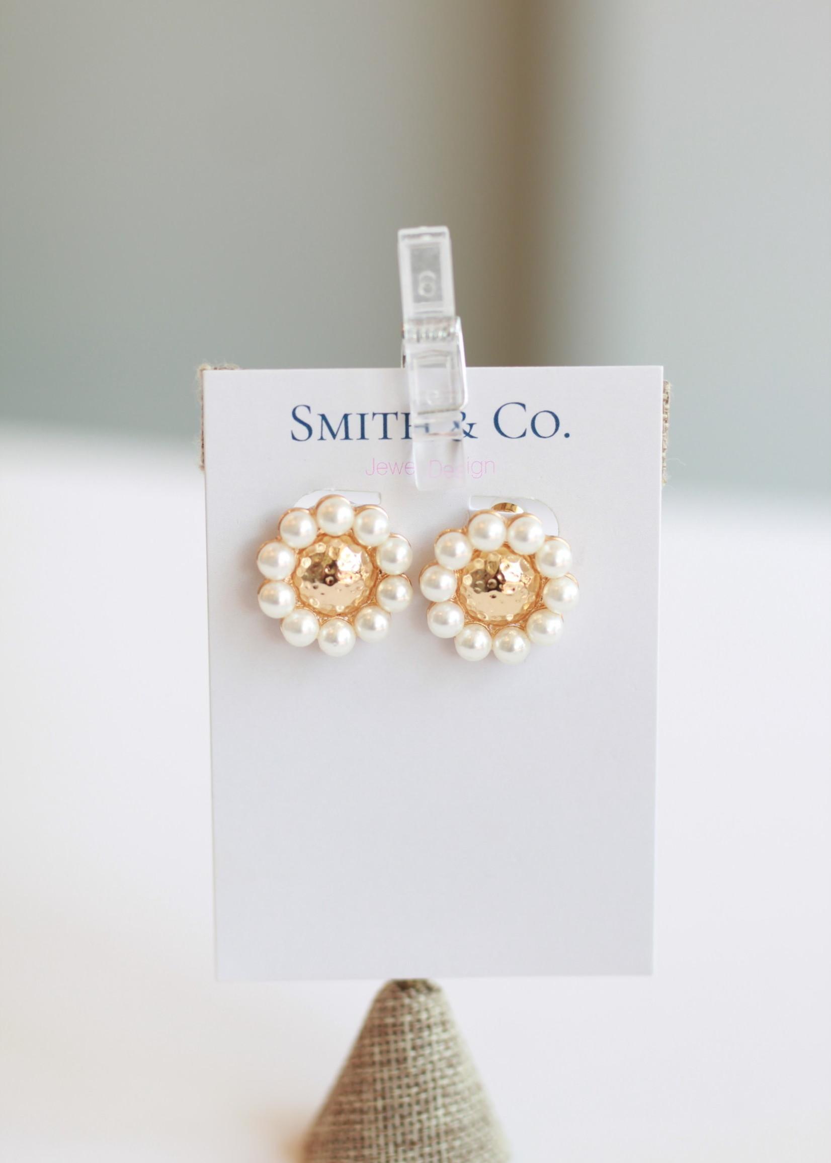 Smith & Co LS Sunshine Pearl Stud