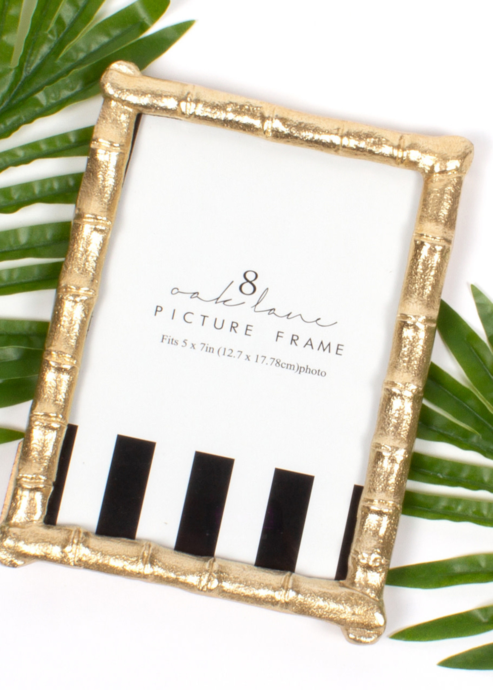 Gold Bamboo Picture Frame 5x7