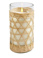 Hillhouse Naturals Sea and Salt Bamboo Glass Candle