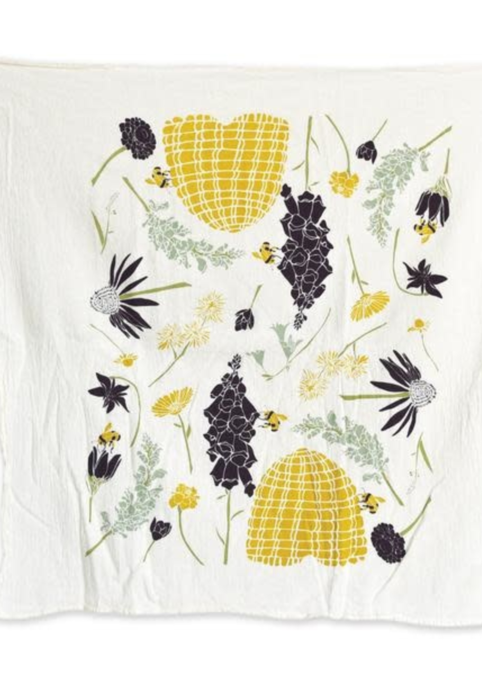 June & December Honeybee Garden Tea Towel