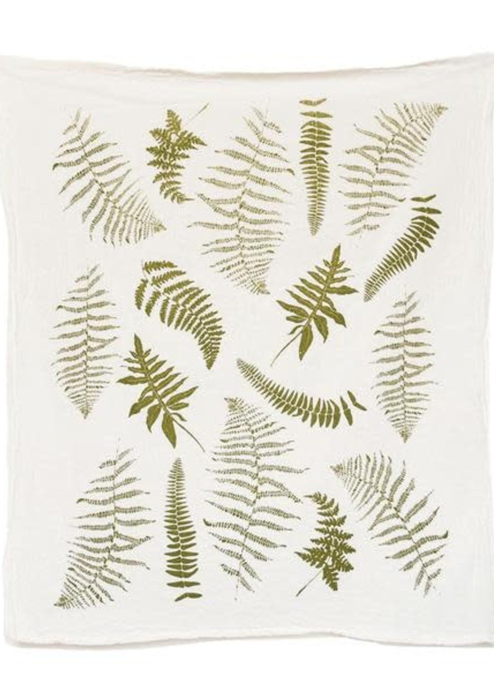 June & December Fronds Tea Towel