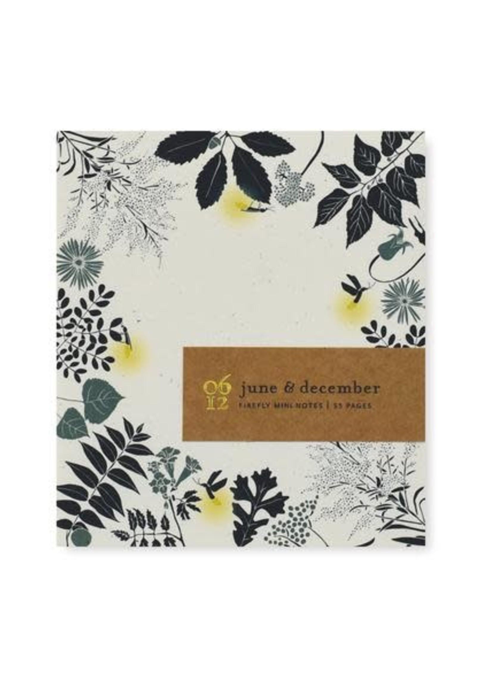 June & December Firefly Mini Notes
