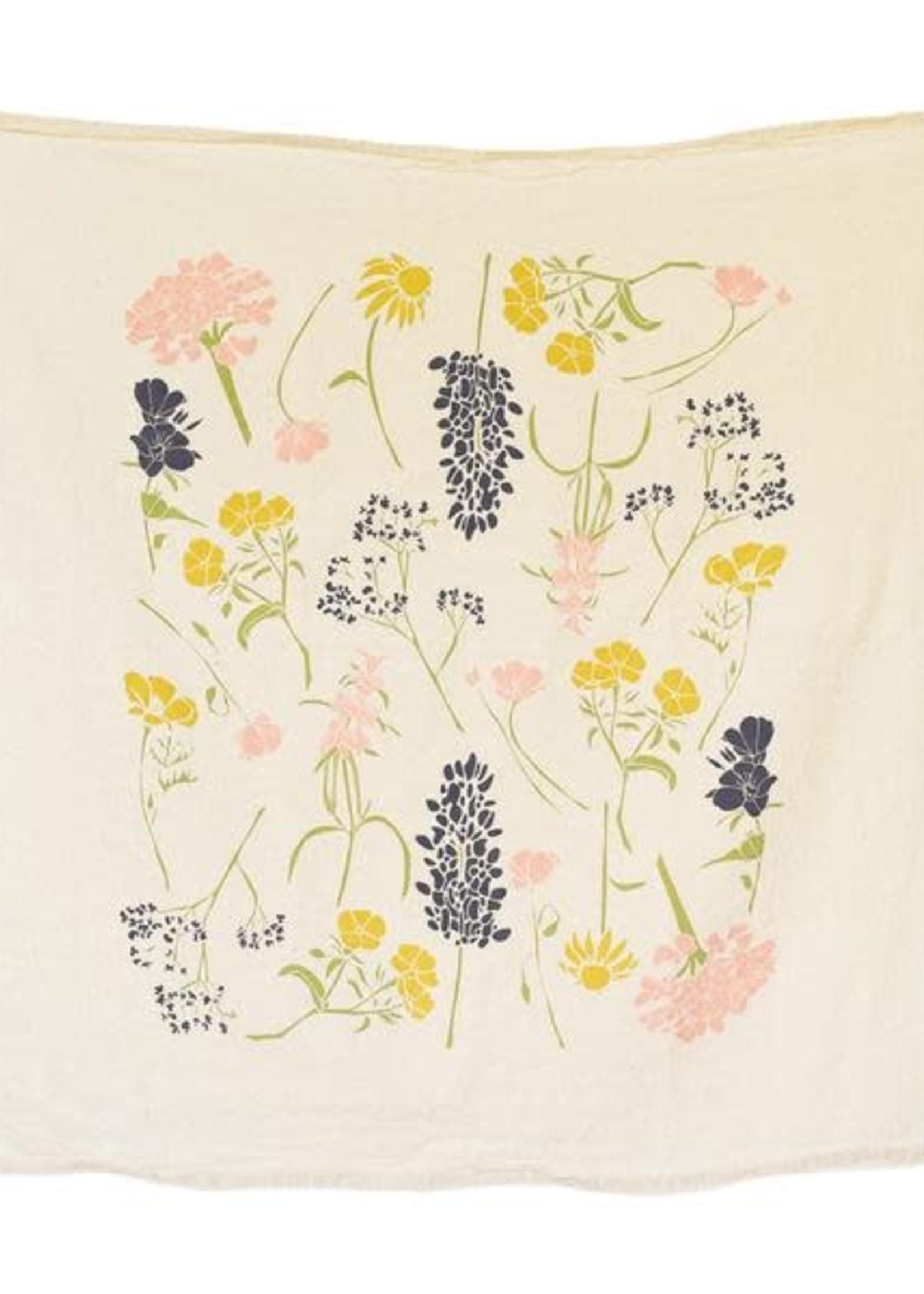 June & December Southern Region Wildflowers Tea Towel