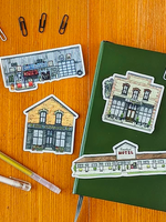 Paper Mill Creative Schitt's Creek Sticker Set