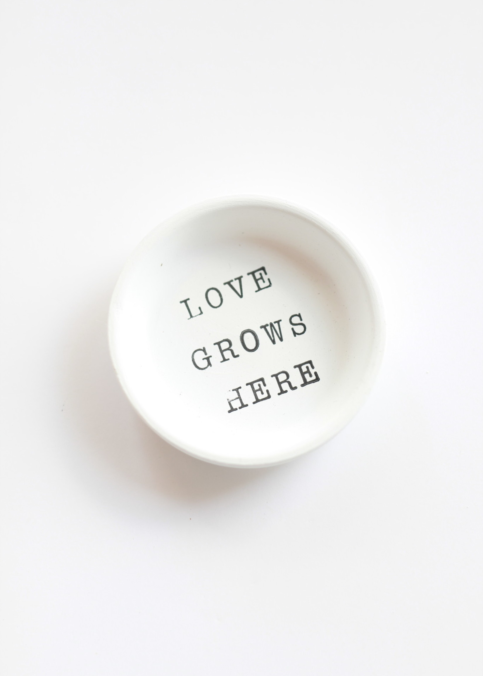 Terracotta Gal Love Grows Here Magnet