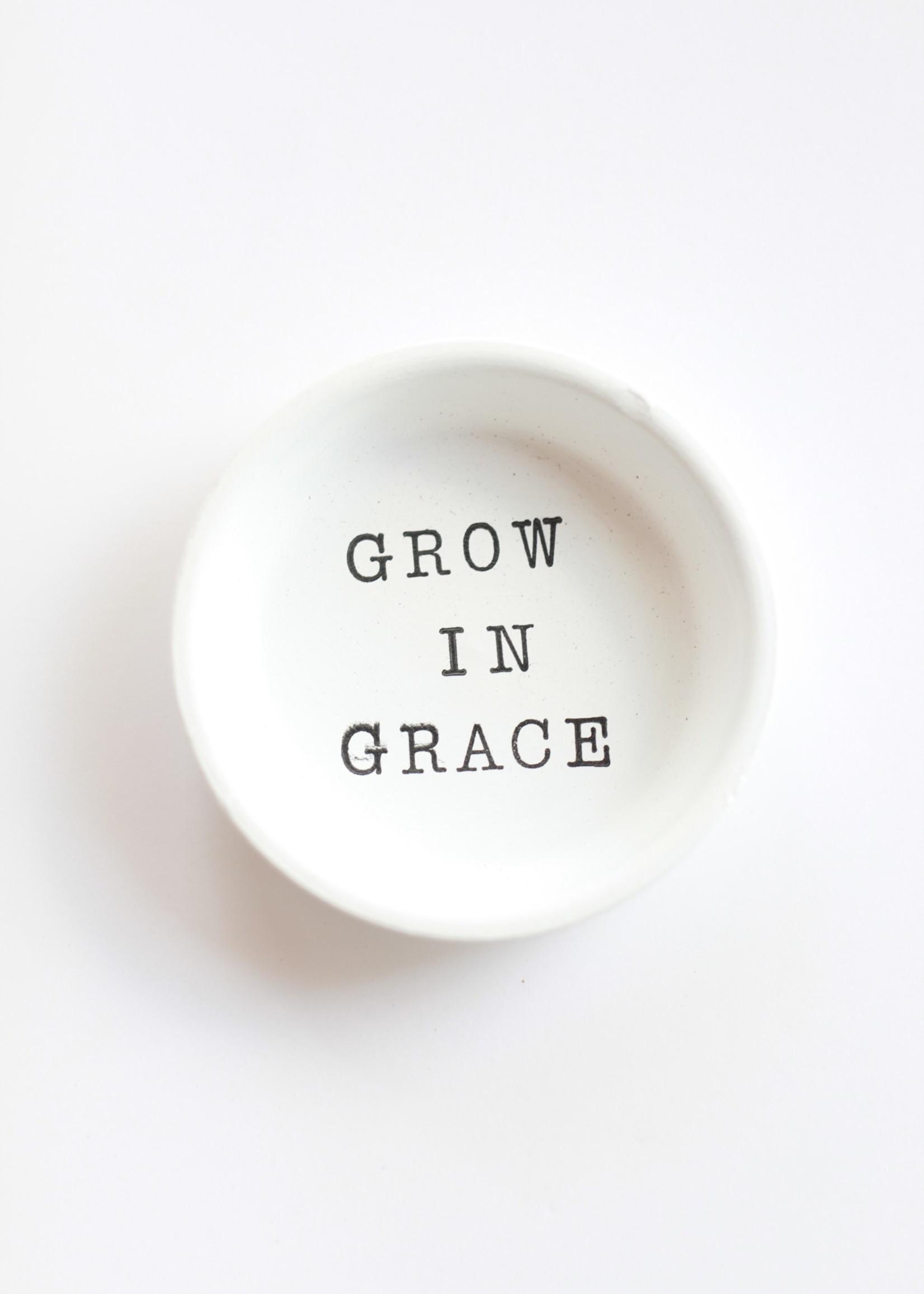 Terracotta Gal Grow In Grace Magnet