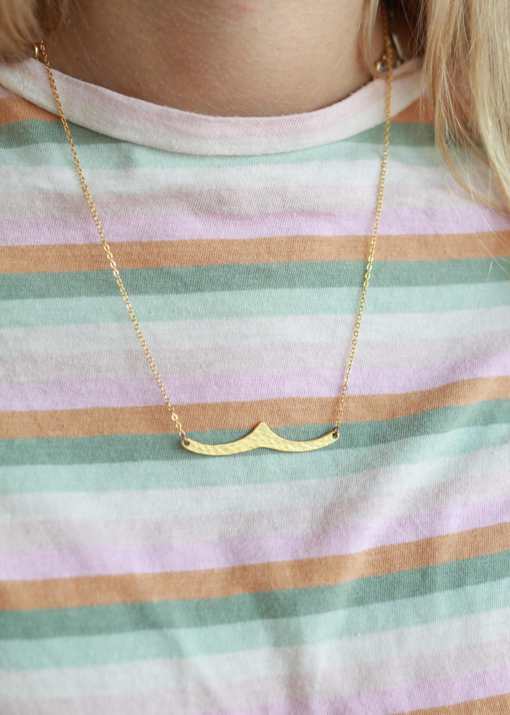 Allison Conway AC Wave Necklace