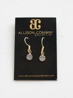 Allison Conway AC Geode Drop Earrings