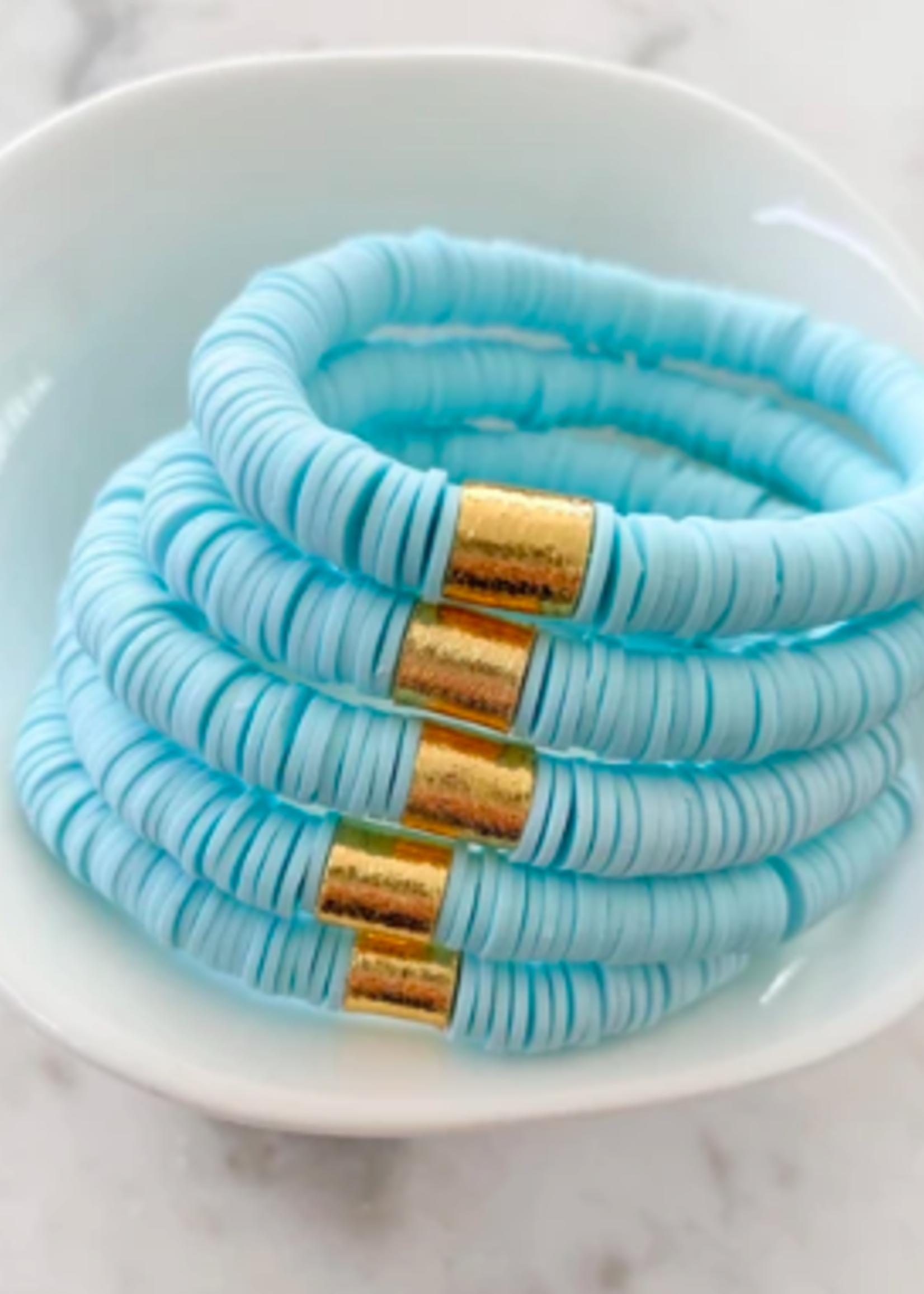 Mod Miss Jewelry Mint Blue  Bracelet Medium