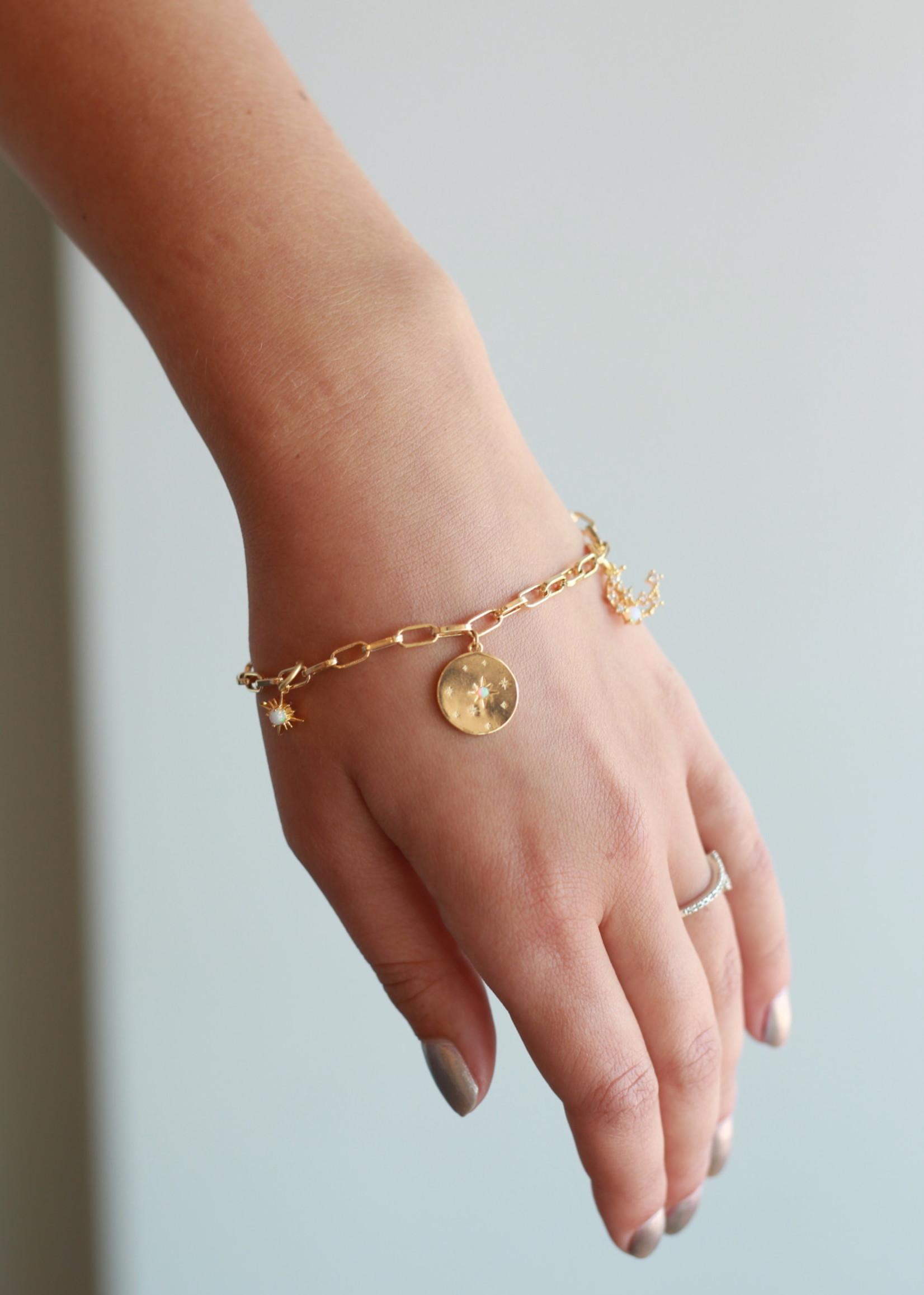 Allison Conway AC Celestial Charm Bracelet