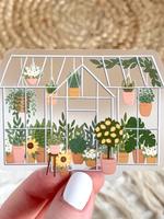 Elyse Breanne Design Clear Greenhouse Sticker
